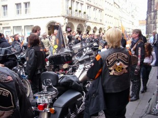 Harley in Münster und dem Münsterland
