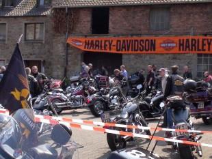 Harley  im Ruhrgebiet und am Niederrhein
